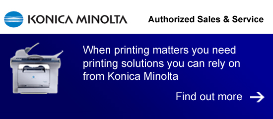 Konica Minolta Printer Sales and Service
