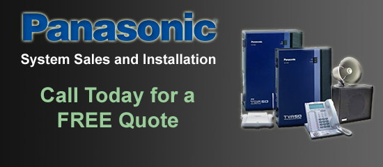 Panasonic Phone System Sales and Installation